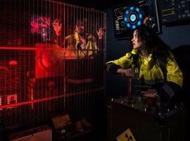 חדר בריחה כור גרעיני