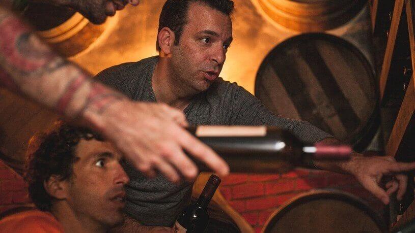 חדר בריחה מרתף יינות 0