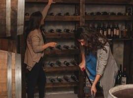 חדר בריחה מרתף יינות