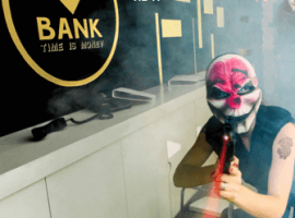 חדר בריחה שוד בנק באר שבע