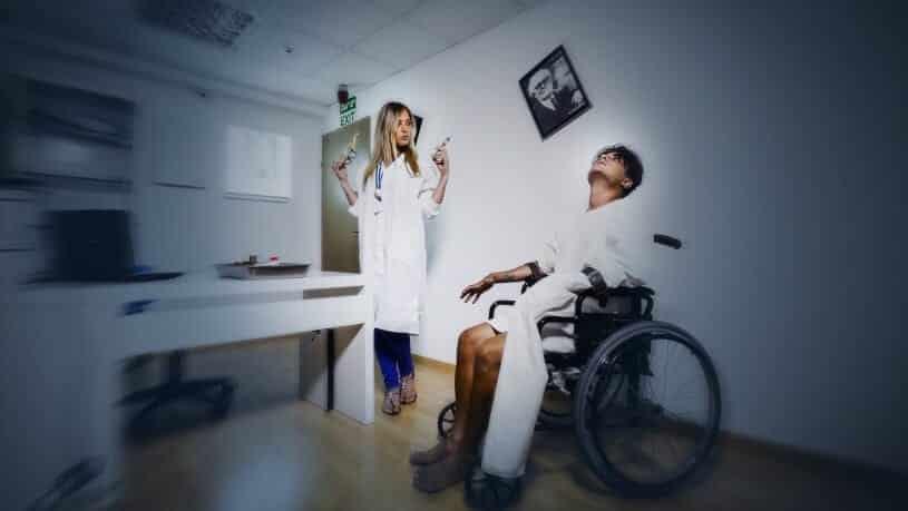 חדר בריחה המחלקה הפסיכיאטרית 0