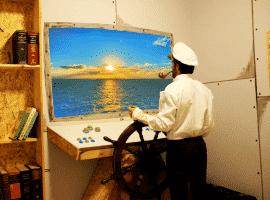 חדר בריחה תקועים בלב ים
