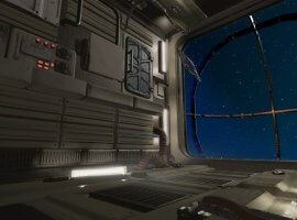בריחה מתחנת החלל