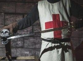 חדר בריחה מלחמת האבירים - החרב המכושפת