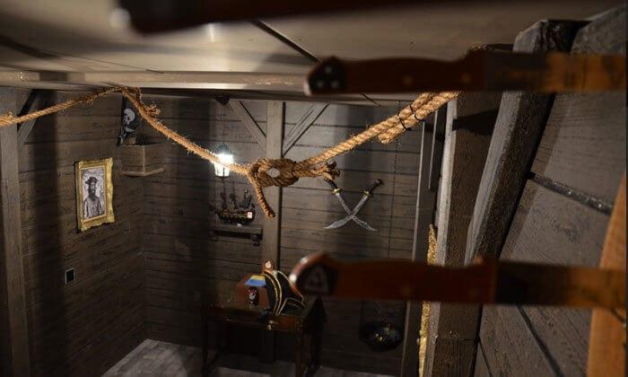 חדר בריחה שודדי הקאריביים 0