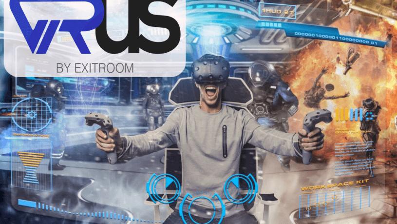 חדר בריחה וירוס מציאות מדומה 0