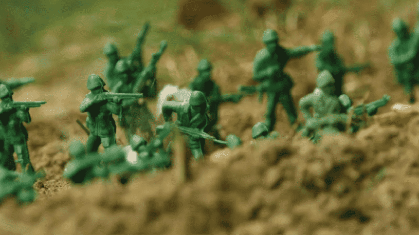 חדר בריחה חיילי צעצוע 0