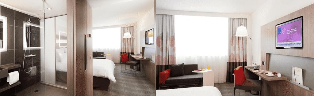 חדרי המלון בסופיה