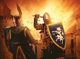 חדר בריחה דו קרב אבירים