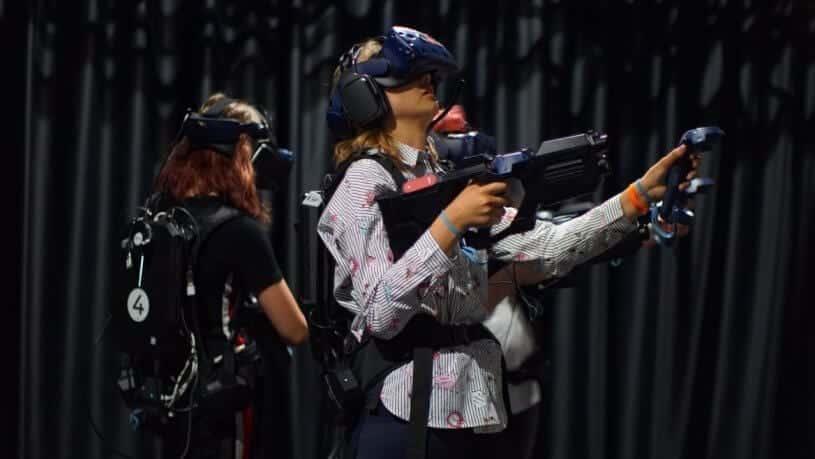 חדר בריחה City-Z השורדים - חדר מציאות מדומה 1