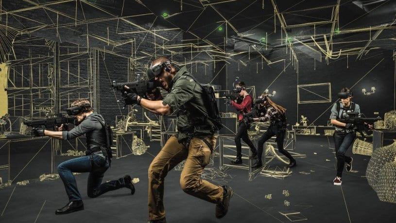 חדר בריחה City-Z השורדים - חדר מציאות מדומה 0