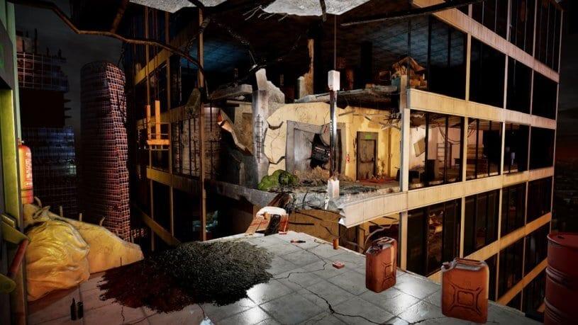 חדר בריחה אפוקליפסה City Z - חדר מציאות מדומה 2
