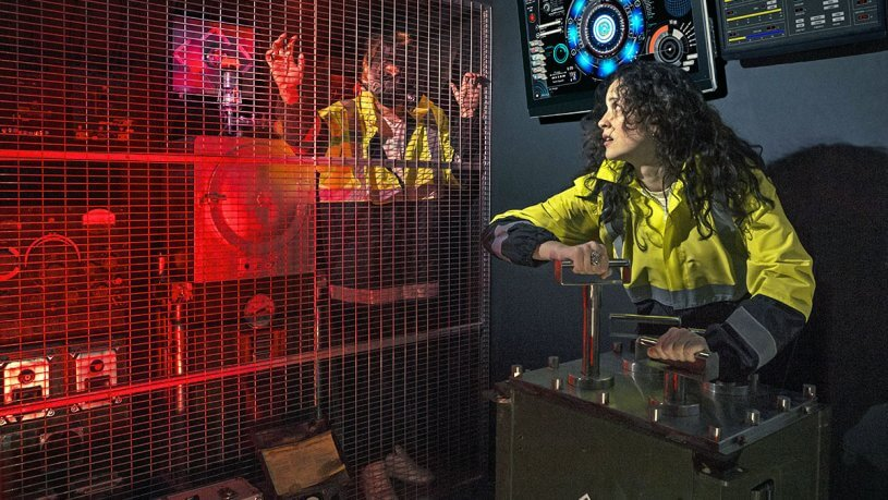 חדר בריחה כור גרעיני 0