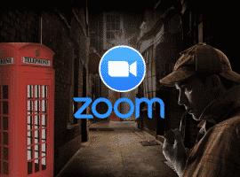 חדר בריחה שרלוק הולמס ב-ZOOM