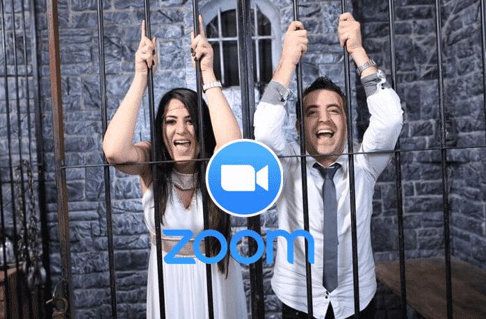 חדר בריחה החתונה ב-ZOOM 0
